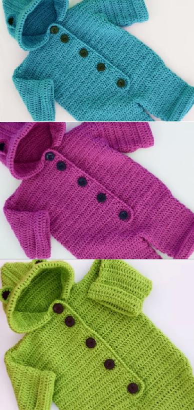 Crochet Lovely Baby Romper 1