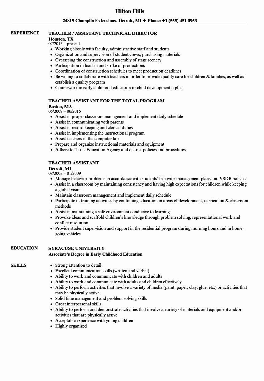 48++ Teacher resume sample canada Format