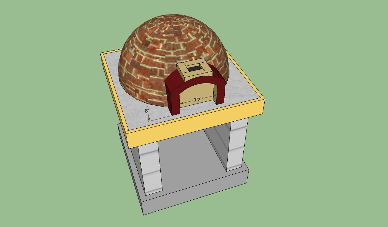Pizza Oven Free Plans Diy Pizza Oven Wood Oven Diy