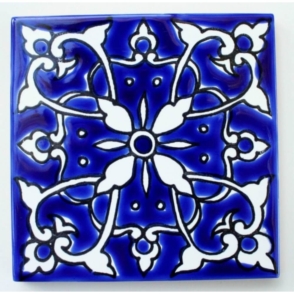 Blue Mediterranean Tile | Pool Design Ideas | Pinterest ...