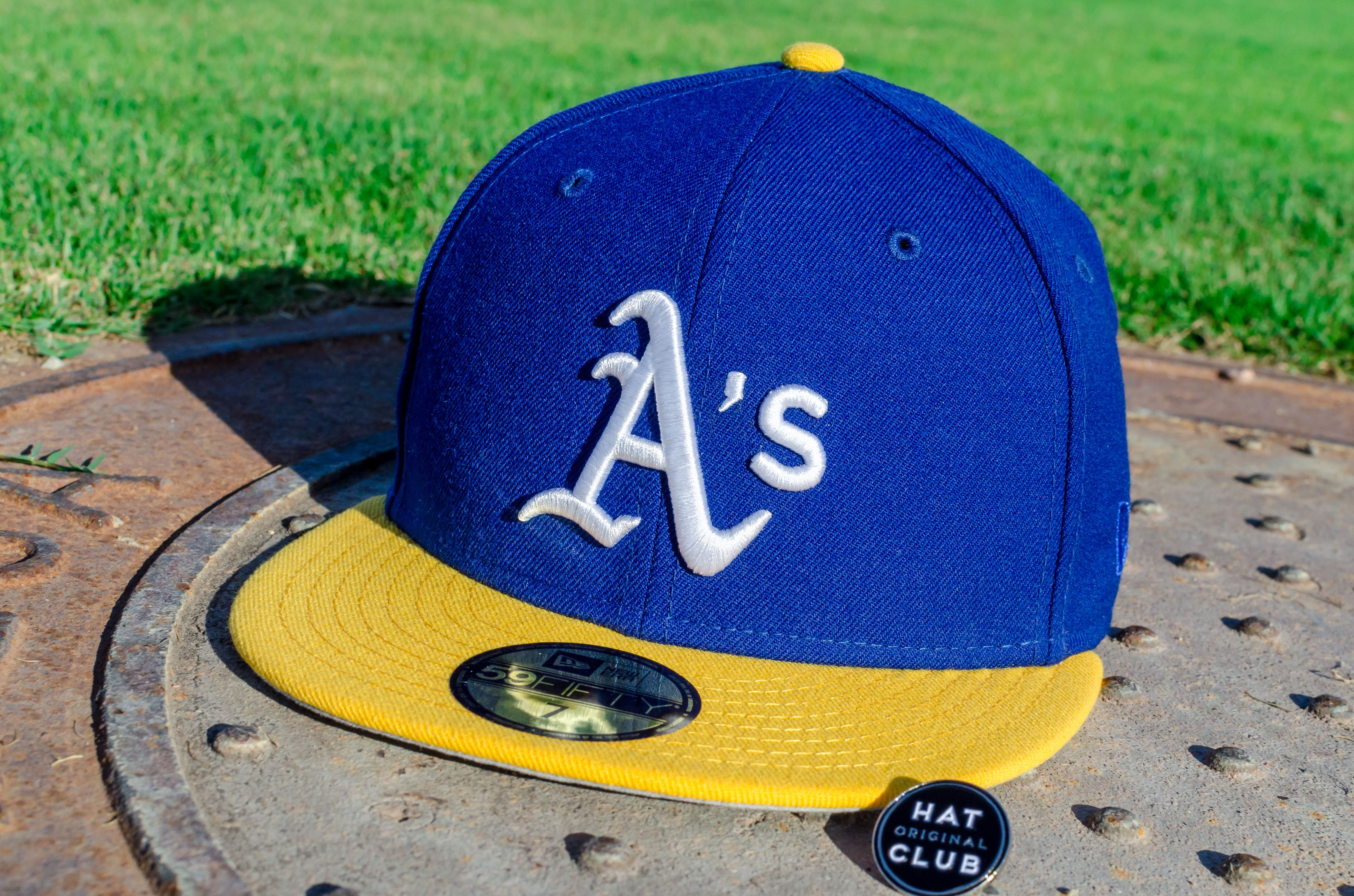 online store add4d 5f12c New Era Oakland Athletics Fitted Hat. Warriors Colorway.