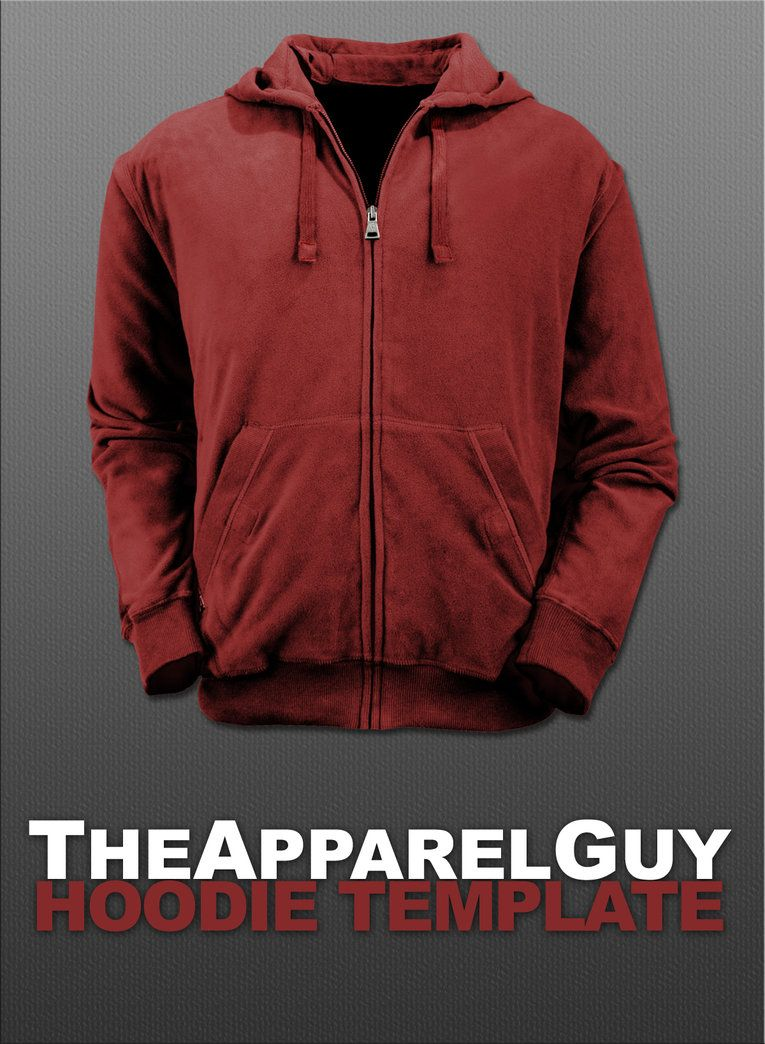 Hoodie Template PSD by ~TheApparelGuy on deviantART | Tools ...