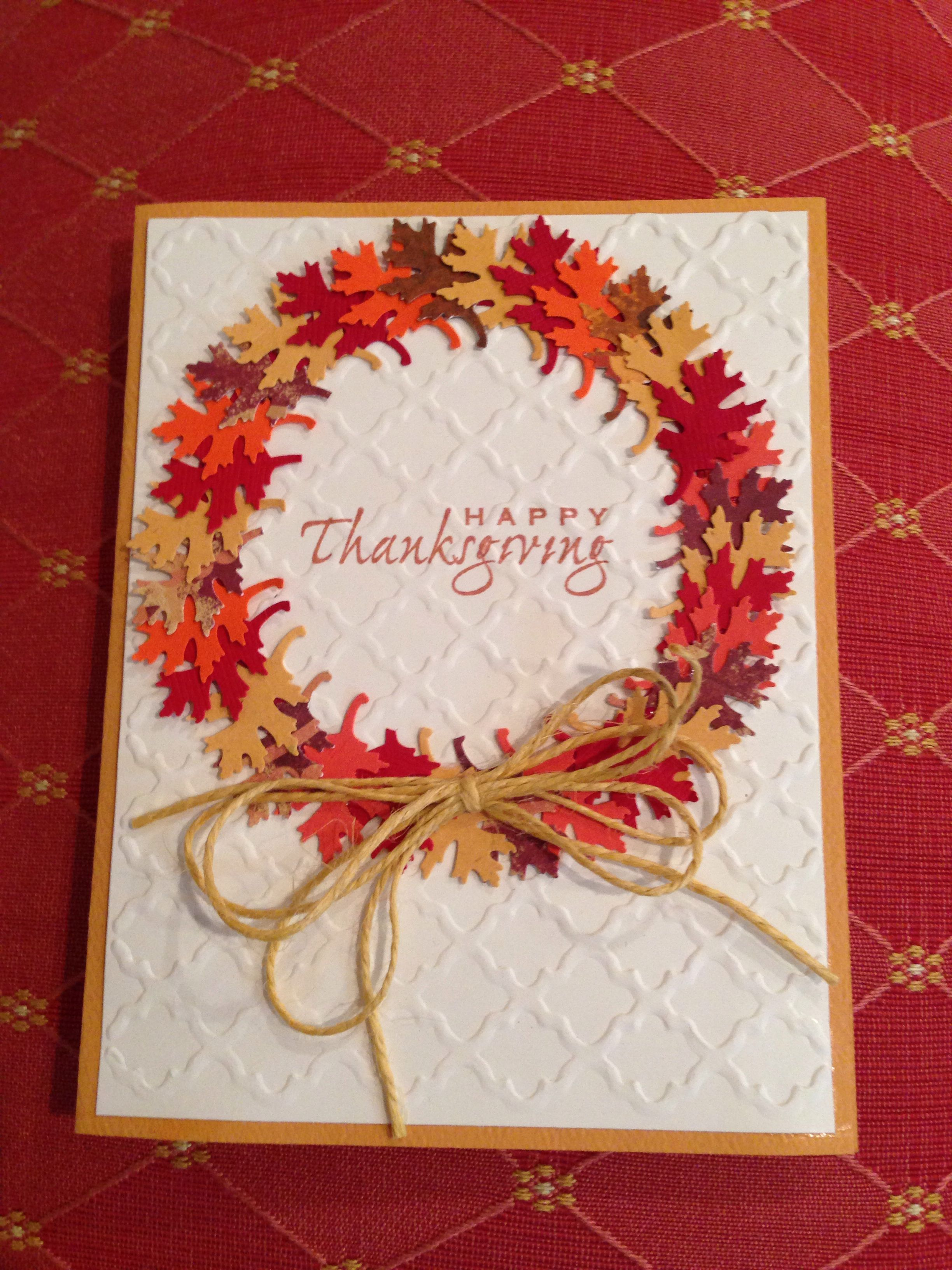 Best 25 DIY Thanksgiving cards ideas on