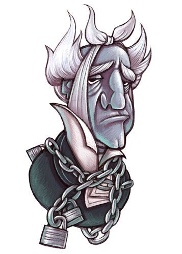 The Ghost Of Jacob Marley | Dickens christmas carol, Christmas carol, Jacob marley