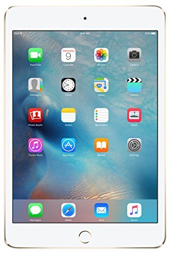Apple iPad mini 4 128GB Wi-Fi 7.9-Inch Tablet - Gold   Read more at SMART News : http://www.newtabapps.com/?p=22838  There's more to mini than meets the eye. iPad mini 4 puts uncompromising performance and potential in your hand. It's thinner and lighter than ever before, yet powerful enough to help you take your idea even further. The iPad mini 4 is Ridiculously light. Seriously thin. – iPad...   #128GB #79Inch #Apple #Gold #IPad #Mini #Tablet #WiFi