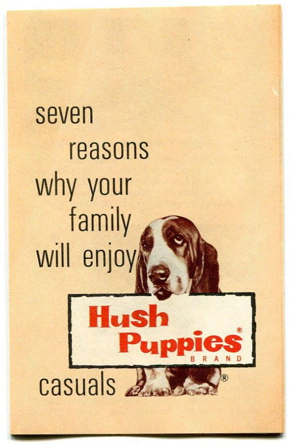 Vintage Hush Puppies Shoes Advertising Brochure Ebay Shoe