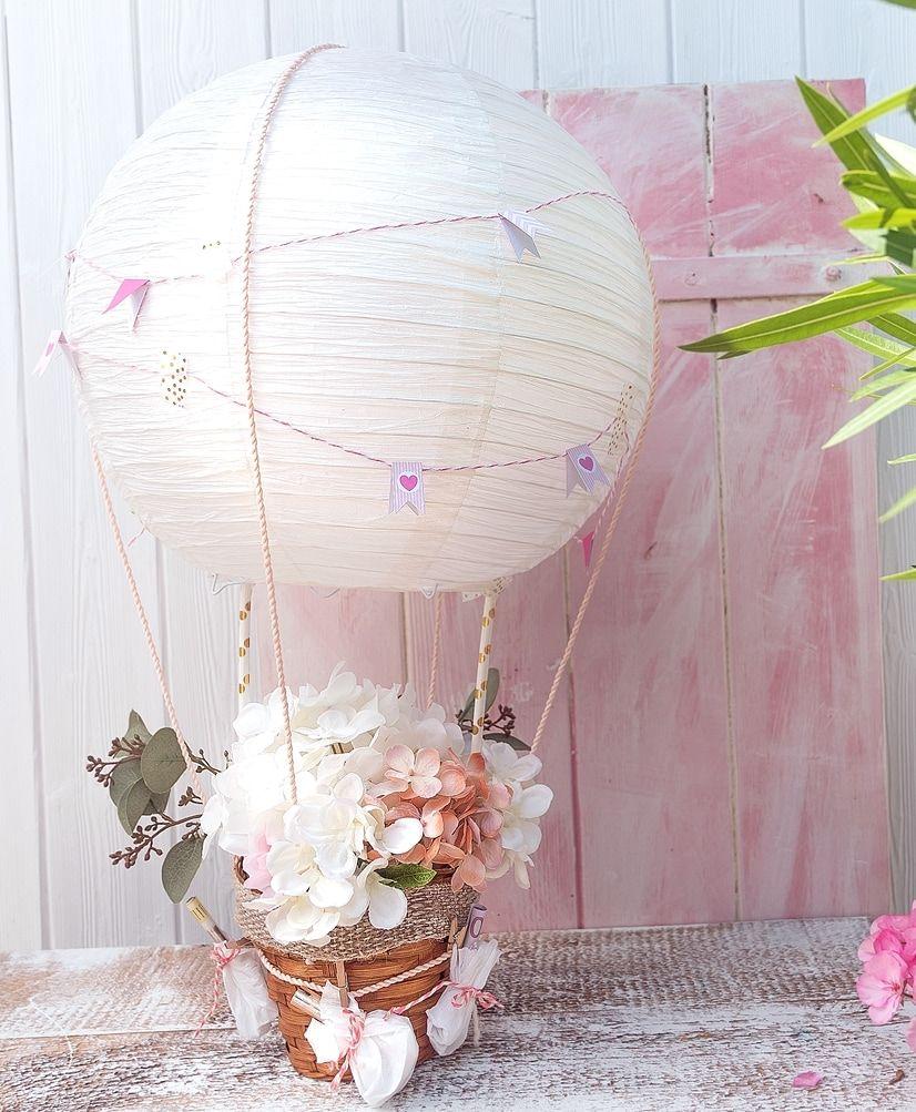 Geldgeschenk Zur Hochzeit Heißluftballon Selber Machen