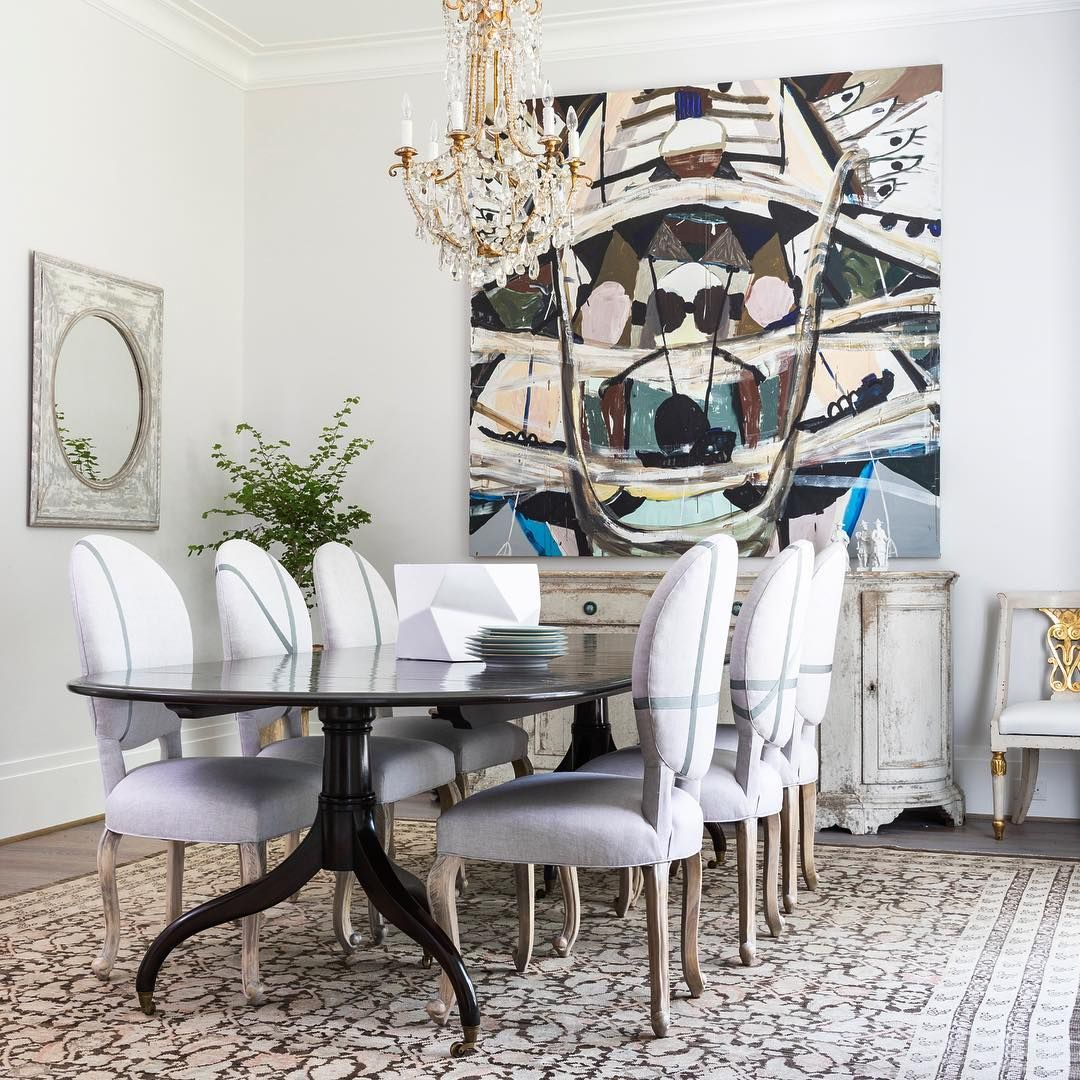 202 Likes 5 Comments Dodson Interiors Dodson Interiors On Instagram A Fresh Approach To Classic Design Interior Design Interior Dining Room Inspiration