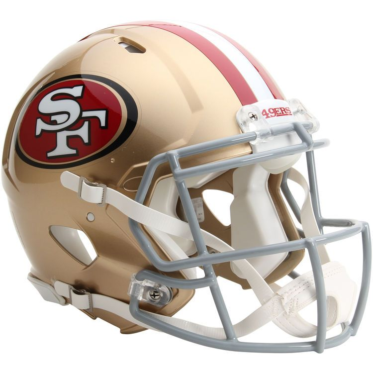 finest selection 429aa 1d0ea Riddell San Francisco 49ers Revolution Speed Full-Size ...
