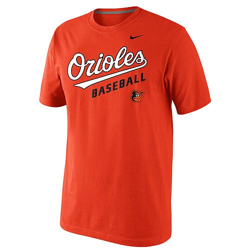 Baltimore Orioles Short Sleeve Practice T-Shirt 1.5 by Nike