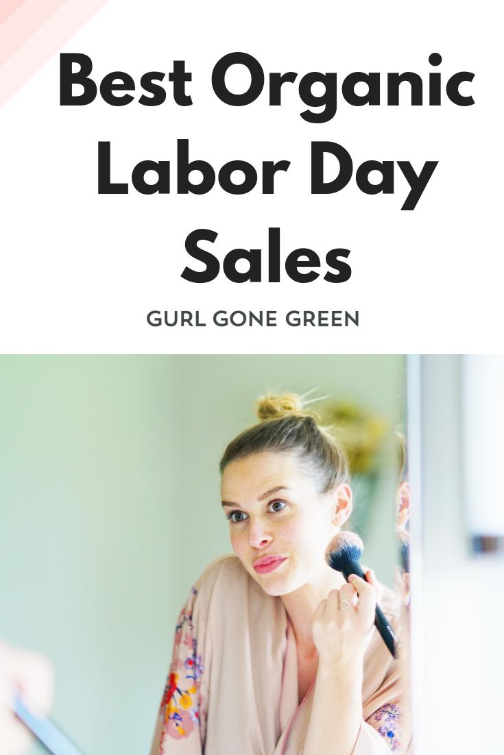 Organic Labor Day Sales 2019 Holistic skin care, Skin