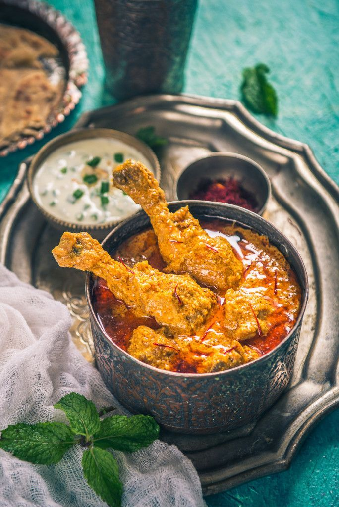 Mughlai kesar murgh recipe chicken spices fresh cream and dishes mughlai kesar murgh forumfinder Images