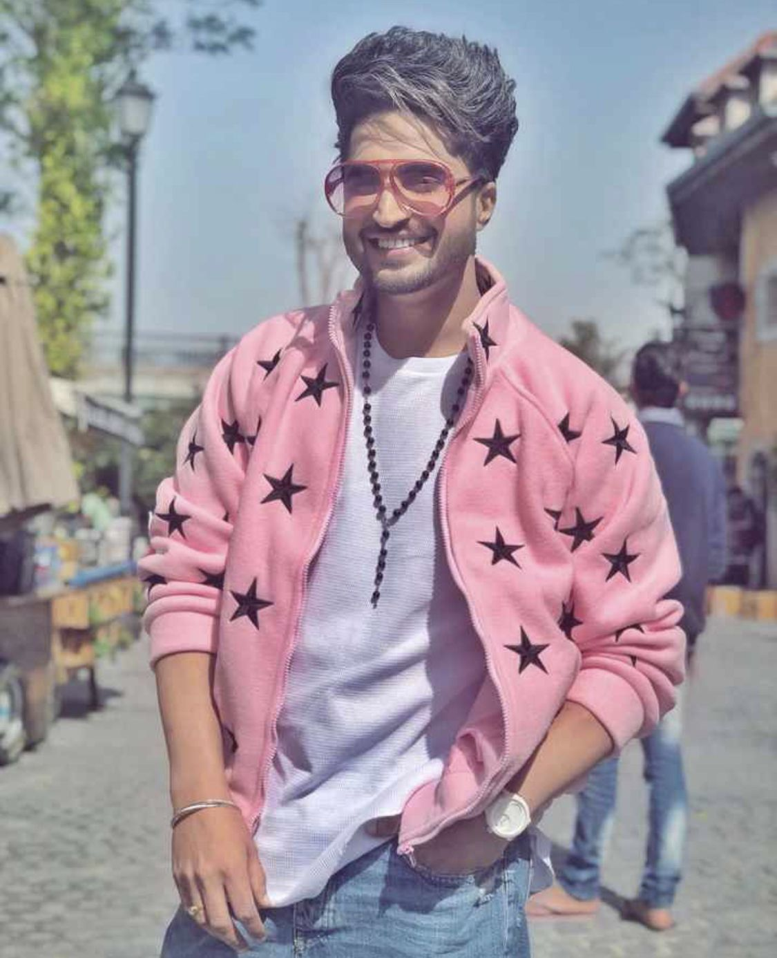 Jassie Gill Jassi Gill Hairstyle Jassi Gill Stylish Pic