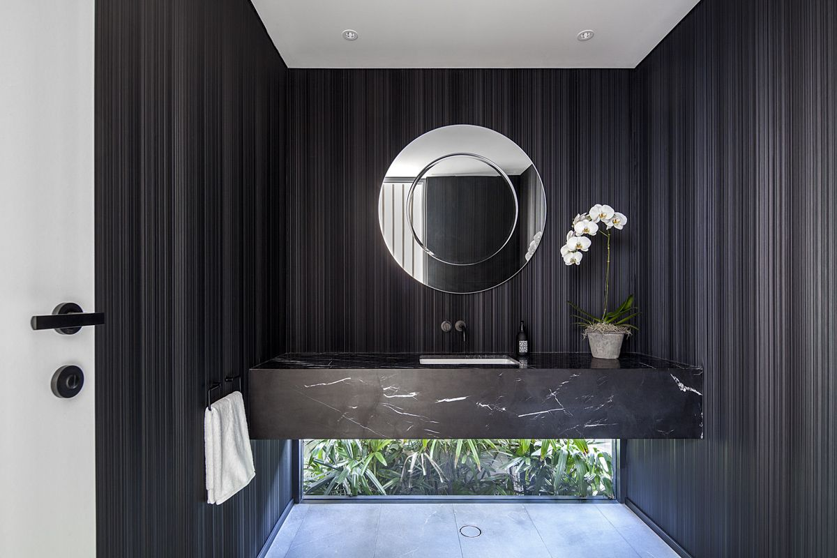 Anna Vaughan Architects l Clovelly house | Round mirror ...