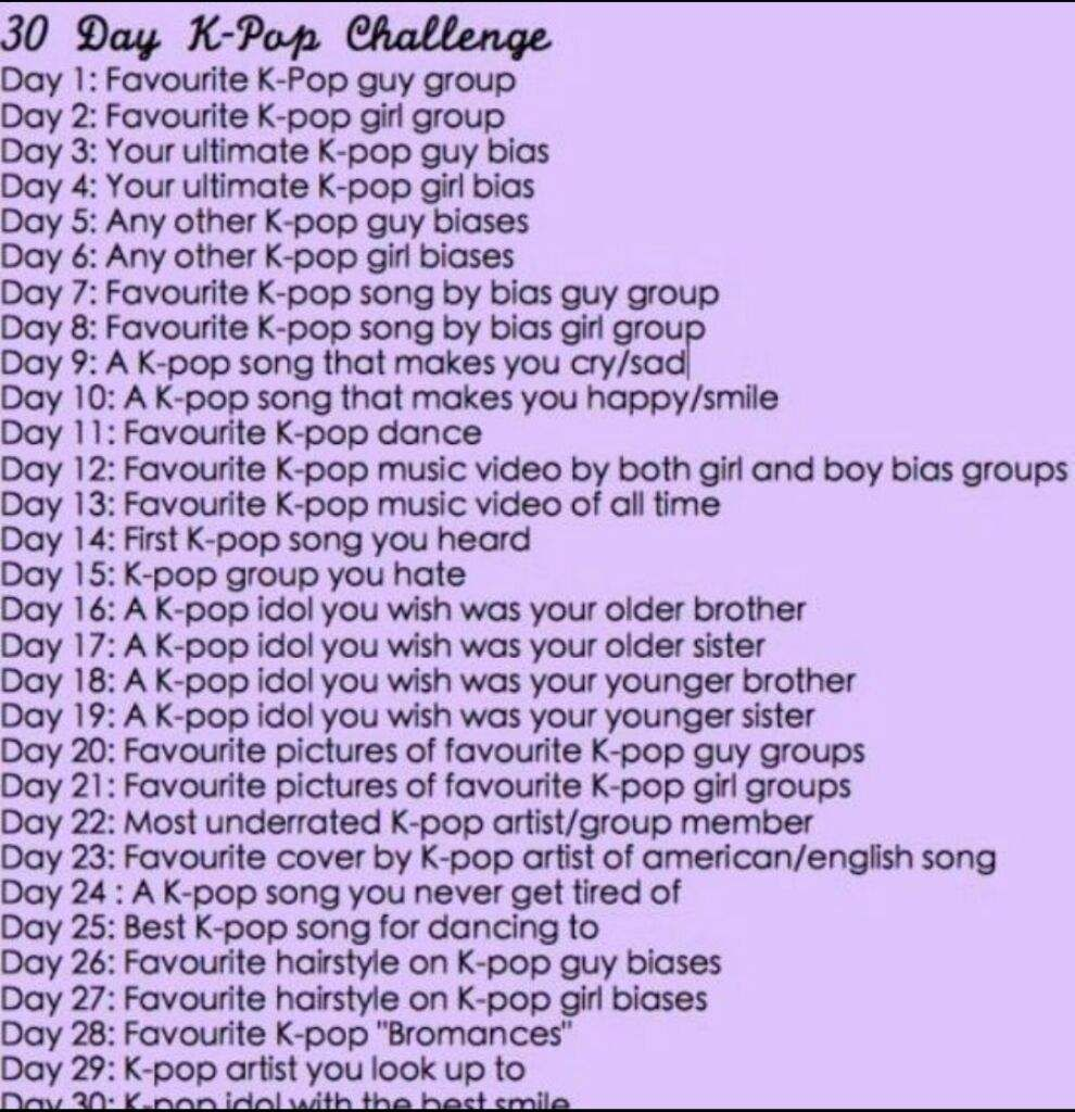30 Day Kpop Challenge Day 26 Drawing Challenge Journal Challenge Music Challenge