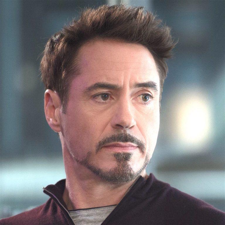 Tony Stark Side Profile Google Search Tony Stark Robert Downey Jr Beard Robert Downey Jr
