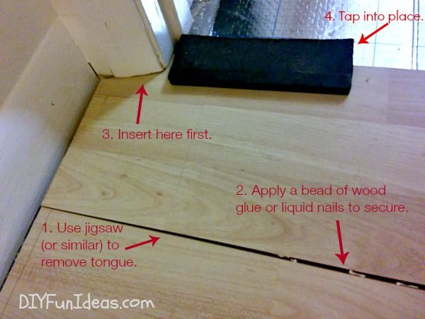 How To Install Beautiful Laminate Floors In One Afternoon Do It Yourself Fun Ideas In 2020 Laminate Flooring Flooring Laying Vinyl Flooring