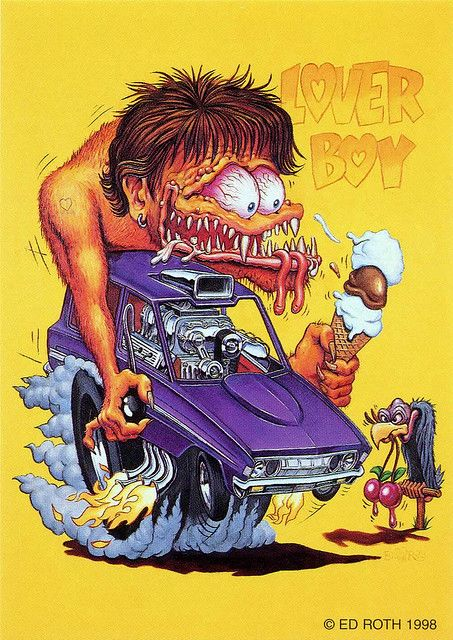 rat fink ed big daddy roth lover boy
