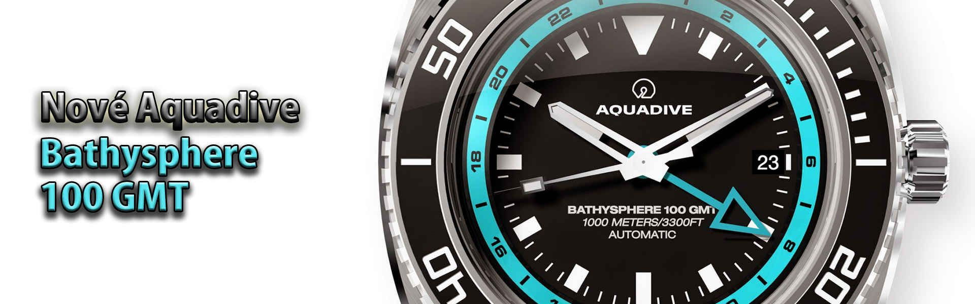 Aquadive Bathysphere 100 GMT - AQUADIVE - HODINKOMANIA.SK