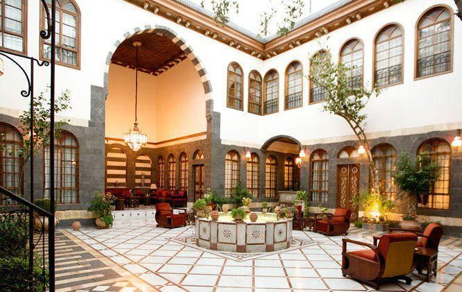 Syrian Old Arabic House Architecture Islamic Architecture