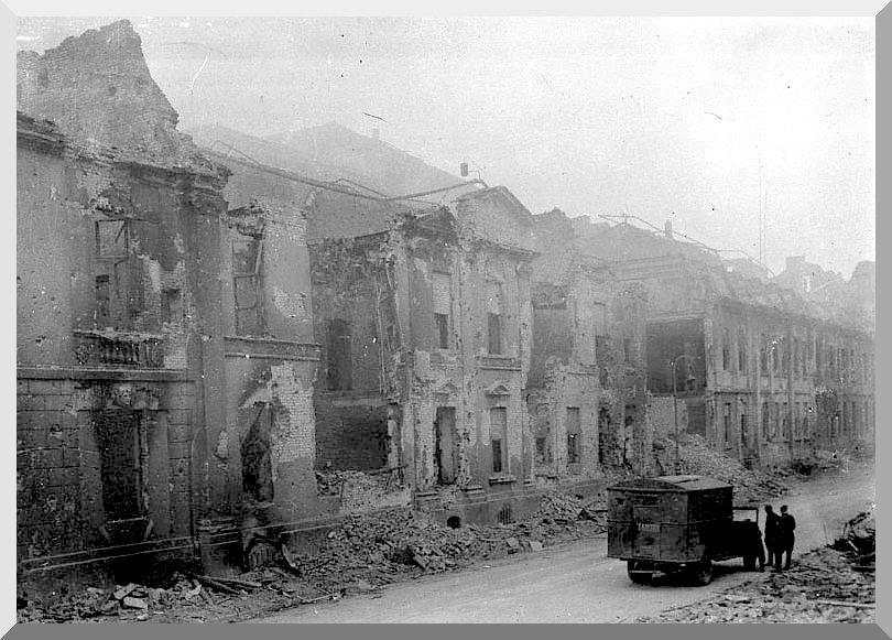 Gestapo Headquarters. Berlin, April 1945 [844x650 ...