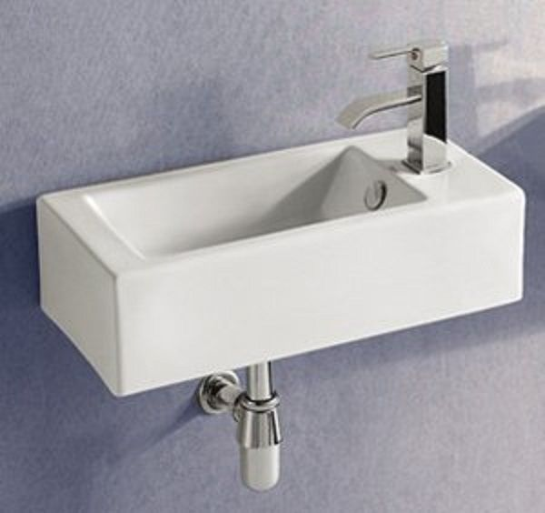Tiny sink for tiny bathroom. This one is expensive.