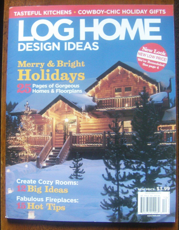 2004 December Log Home Design Ideas