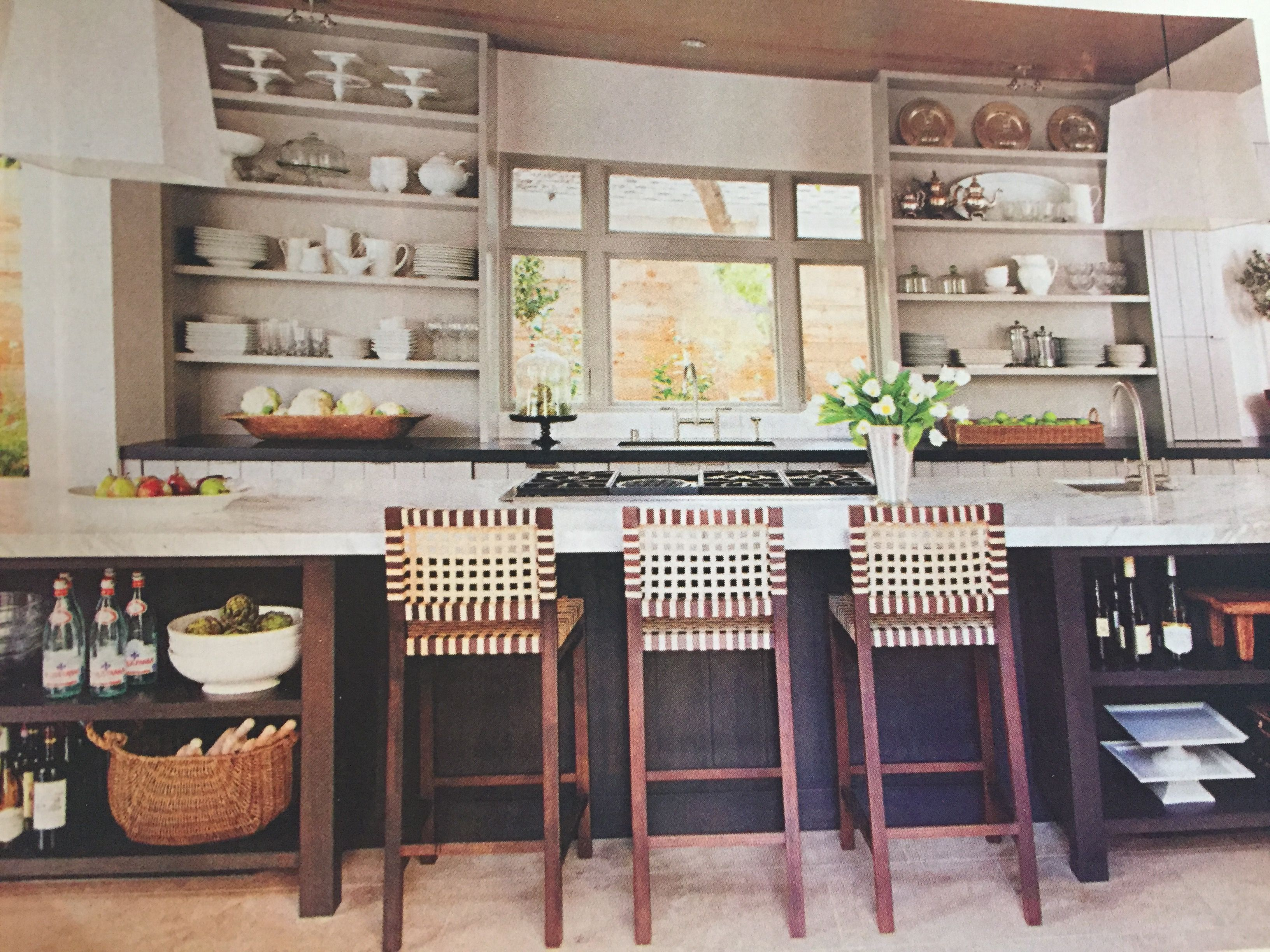 Kitchen Ideas Open Shelving Eat In Counter Kitchens Without Upper Cabinets Kitchen Design Home Kitchens