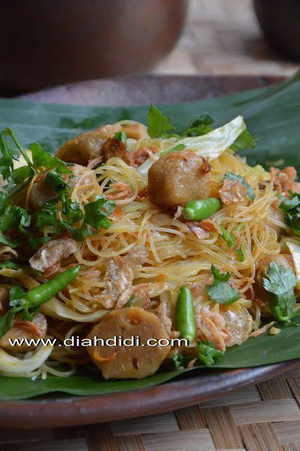 Diah Didi S Kitchen Tips Mengolah Bihun Jagung Resep Masakan Masakan Masakan Indonesia