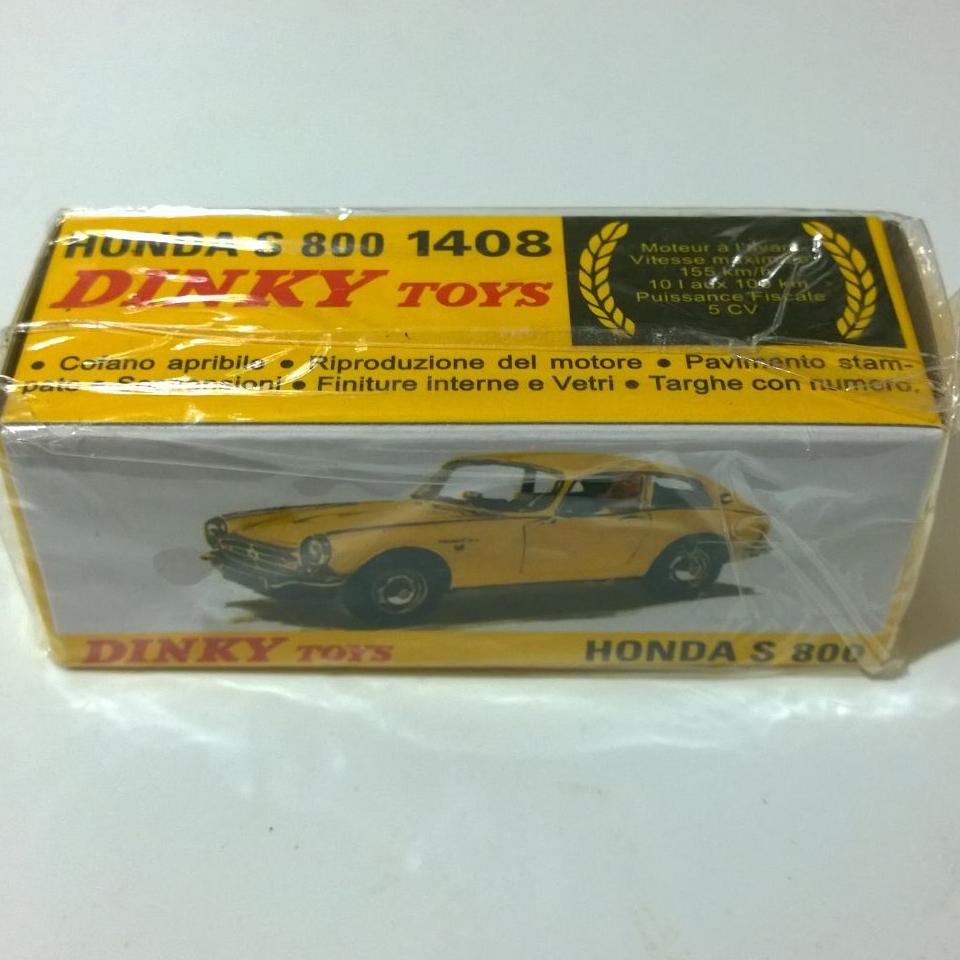 Honda car toys  Atlas editions Dinky Toys  Honda S s  mint boxed  Diecast