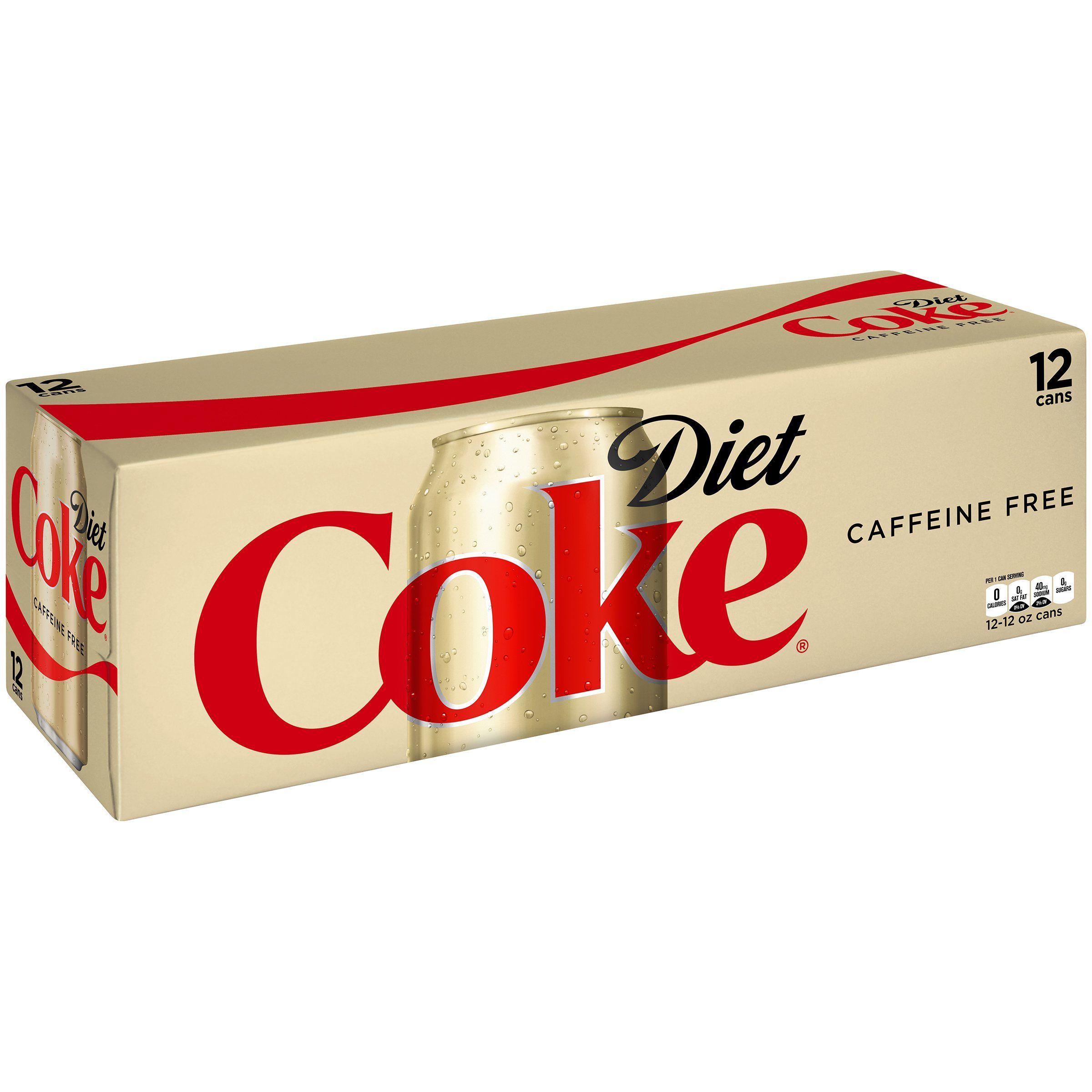 Caffeine Free Diet Coke, 12 fl oz, 12 Pack diet