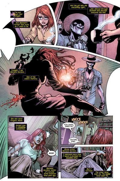 Joker And Barbara Gordon