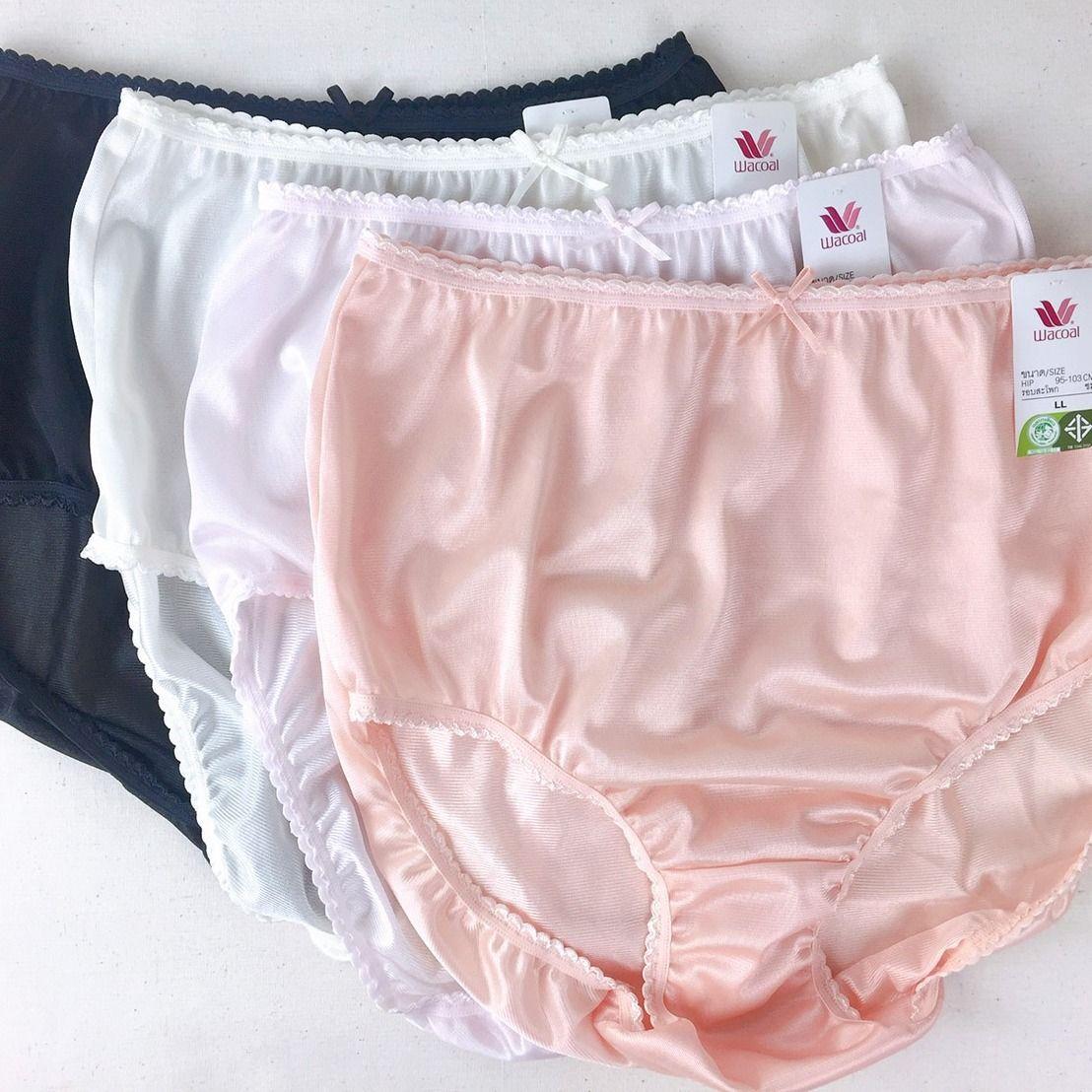 Pink Vtg Granny panties sz 8 Cotton Vintage Lingerie Bloomer