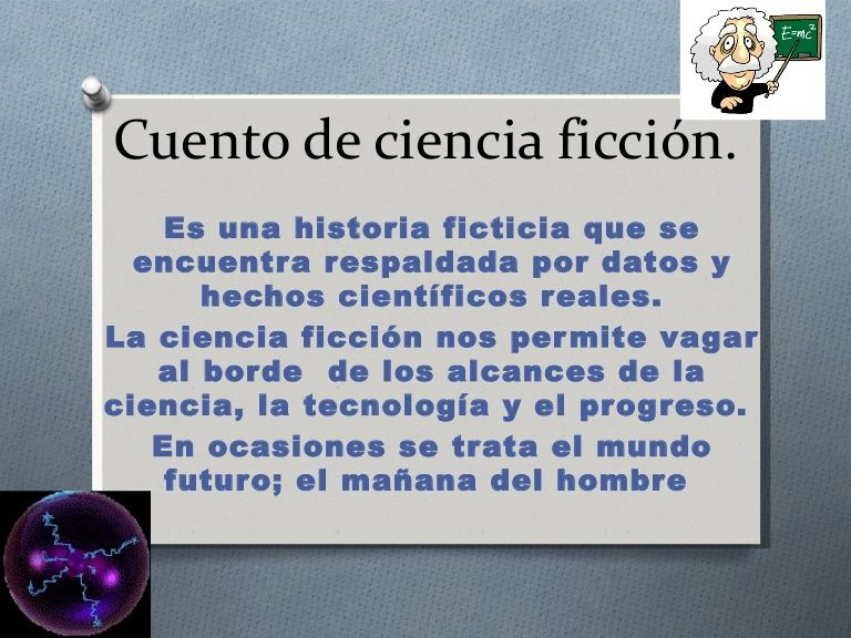 Cuento de ciencia ficción | Trabajos escolares | Pinterest | Ciencia ...
