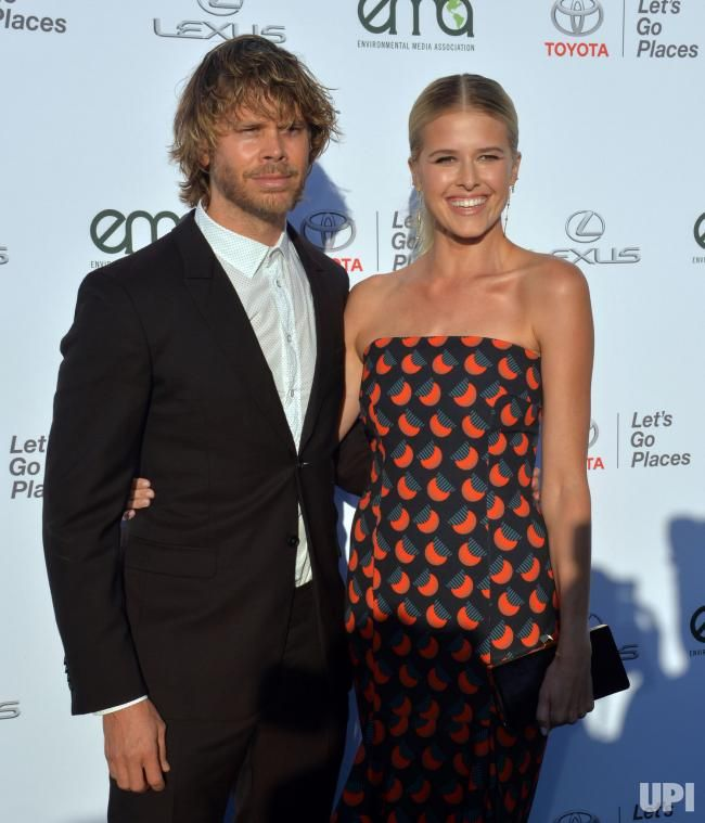eric christian olsen and wife