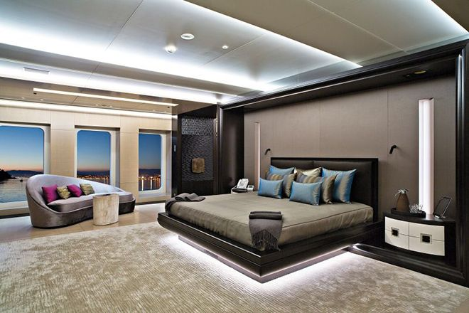 The outstanding interior design of the Mogambo Super Yacht ...