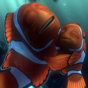 Finding Nemo The Play Scene 12 Reunited And His Father Are Ends With A Big Hug