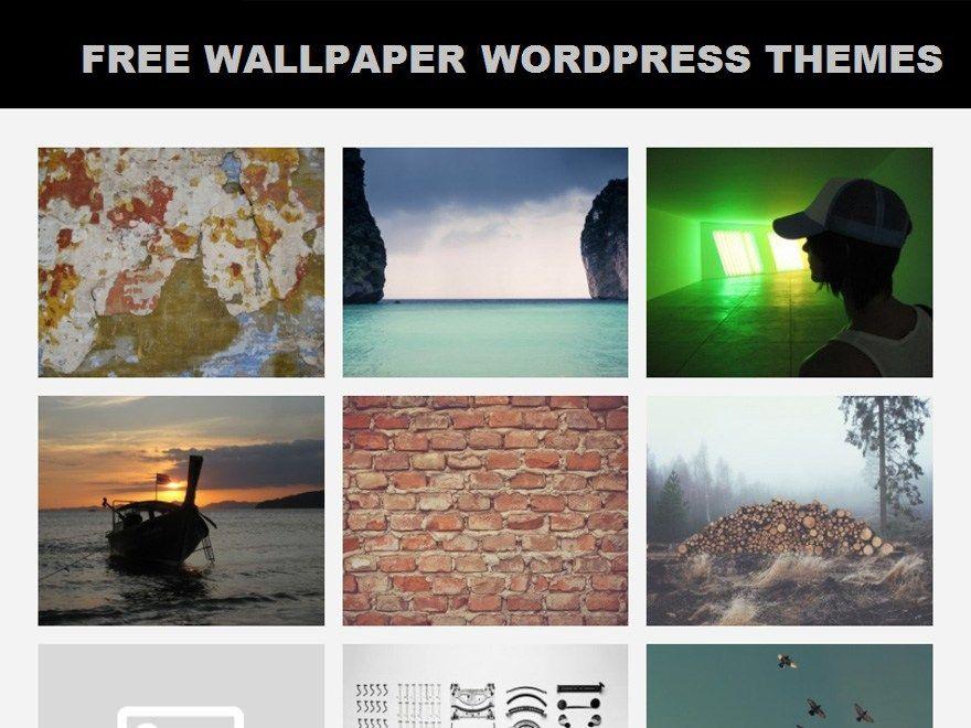 10 Best Free Wallpaper Wordpress Themes Photography Wordpress Themes Best Free Wordpress Themes Wordpress Theme Portfolio