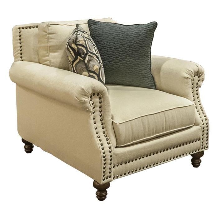Accent Chair in Oatfiel Oatmeal   Nebraska Furniture Mart