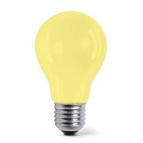 Yellow Light Bulb 25w Es Screw In Cap Lamp Large Traditional Gls Shape 25 Watts In Home Furniture Amp Diy Lighting Light Bulbs Ebay Glodlampa