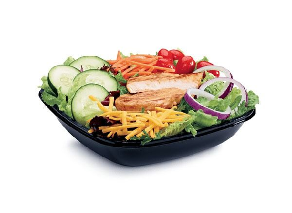 jack in the box grilled chicken salad - Provided by Eat This Not That