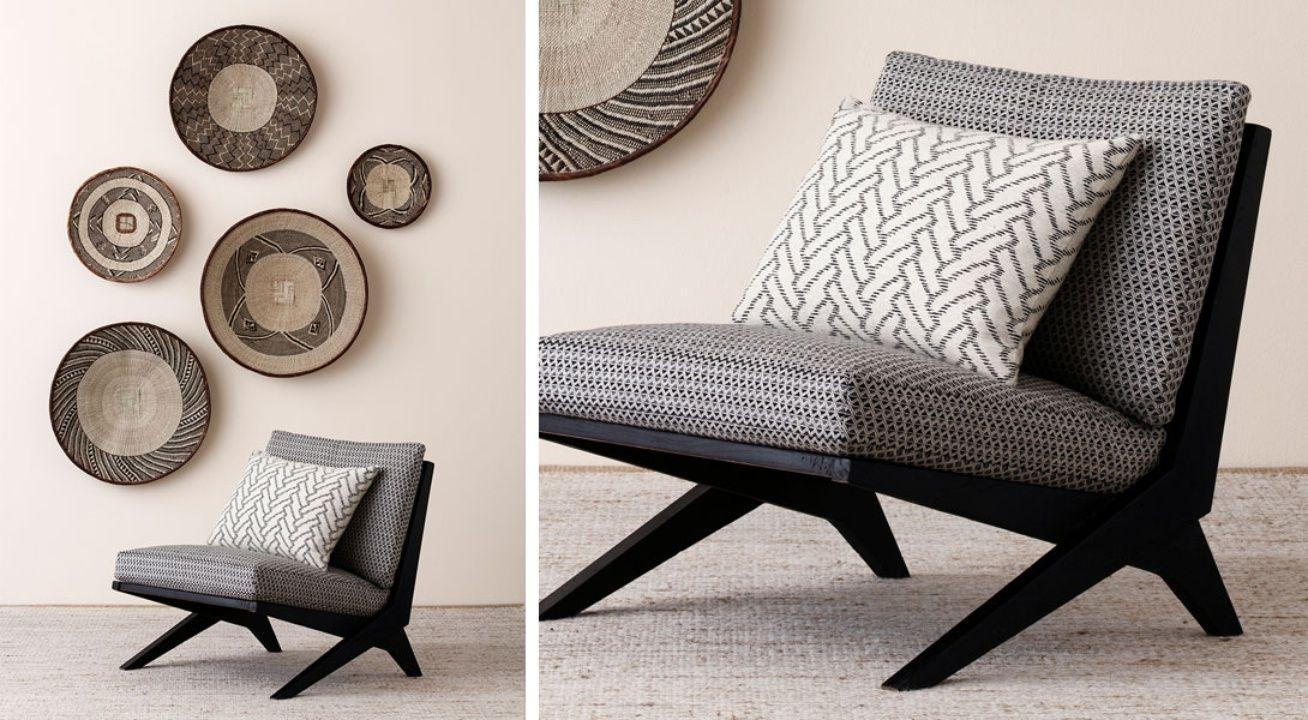 Tribal By Mokum James Dunlop Textiles Upholstery Drapery Wallpaper Fabrics Gray Interior House Interior Home And Living