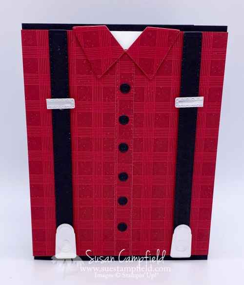Sneak Peek! Red Flannel Shirt Card with the Handso