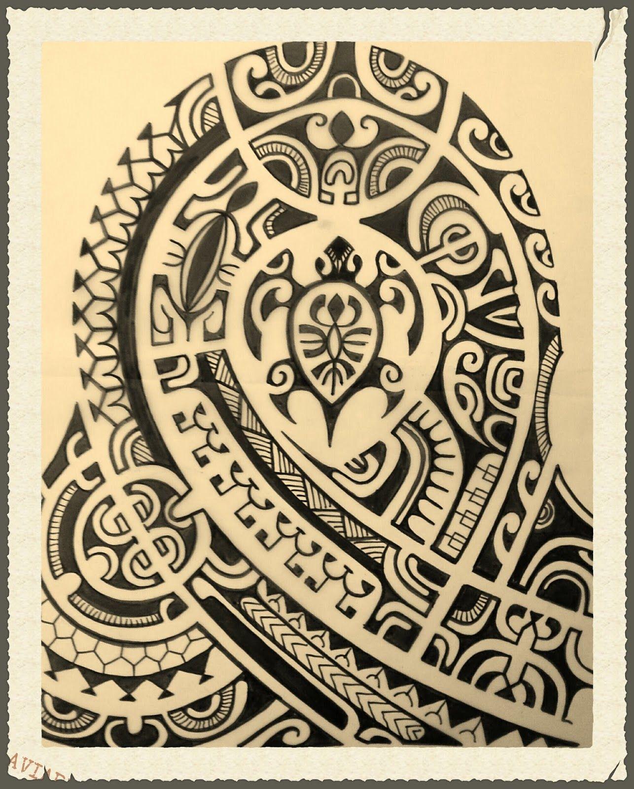 Bracelet Polynésien Tatouage avec tatouage épaule polynésien - tatouage tribal … | pinteres…