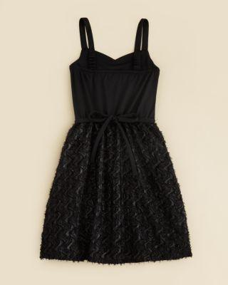 Sally Miller Girls' Tie Waist Katy Dress - Sizes S-xl - Black #sallymiller
