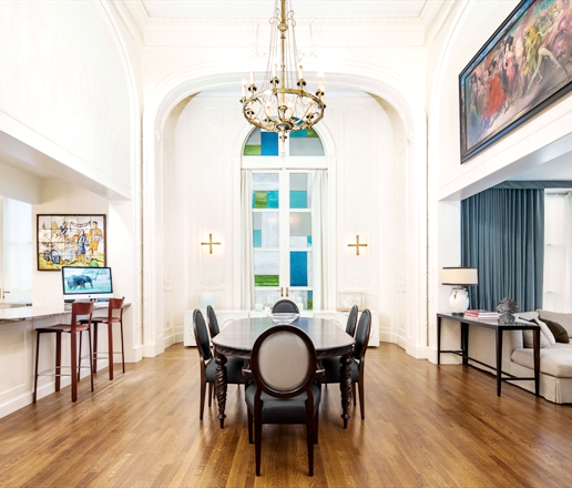 Formal #diningroom in a #historic #NYC #apartment