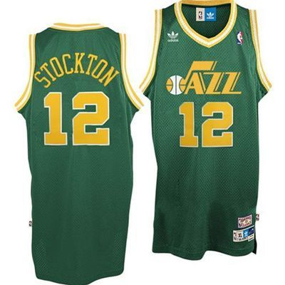 sports shoes 410f8 70667 John Stockton Hardwood Classics Swingman Jersey - Utah Jazz ...