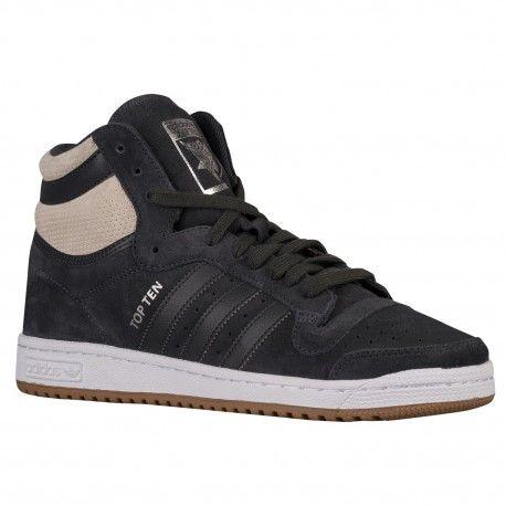 adidas Originals Top Ten Hi - Men's - Basketball - Shoes - Solid Grey/Solid  Grey/Clear Brown-sku:B27508 | Adidas originals tops, Top ten and Yeezy