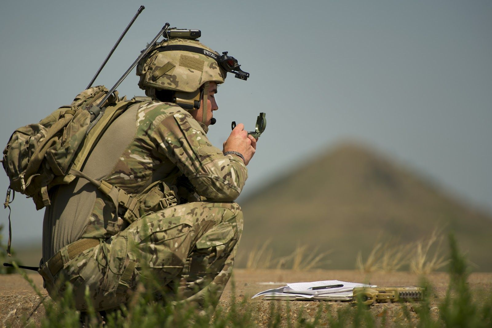 75th Ranger Regiment JTAC Controller During SOFEX 2012 ...