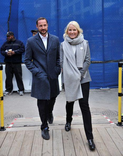 Princess Mette-Marit Photos - Crown Prince Haakon & Crown Princess Mette-Marit Of Norway Visit New York City - Day 2 - Zimbio